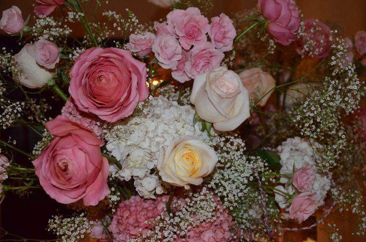 arreglo con rosas
