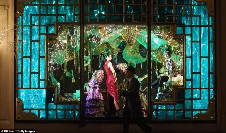 HARVEY NICHOLS | Add some exotic flare to your #windowdisplays and highlight colors, fashions and traditions from around the world.  #windowdisplays