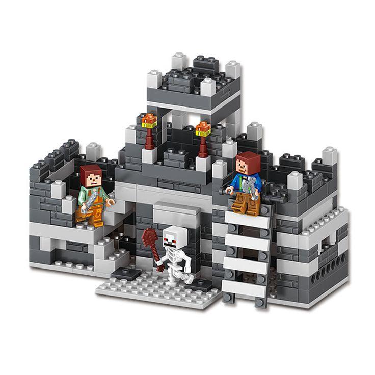 $20.00 (Buy here: https://alitems.com/g/1e8d114494ebda23ff8b16525dc3e8/?i=5&ulp=https%3A%2F%2Fwww.aliexpress.com%2Fitem%2F268pcs-MY-WORLD-legoelied-Steve-Skeleton-Outpost-Fortress-City-War-Minecrafted-Minifigure-Building-Blocks-Brick-Set%2F32738707632.html ) 268pcs MY WORLD legoelied Steve Skeleton Outpost Fortress City War Minecrafted Minifigure Building Blocks Brick Set Boy Gift Toy for just $20.00