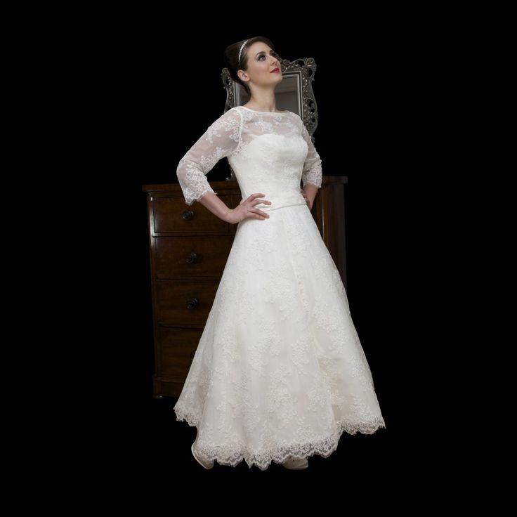 Vintage style lace dresses uk