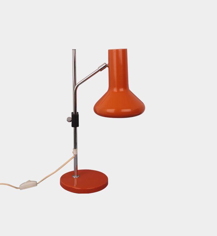 Desk lamp, 1960s/1970s   #forform #vintage #vintagelamps #lamps #1960s #1970s