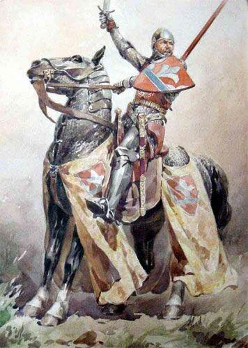 Paja Jovanovic. Serbian Knight.