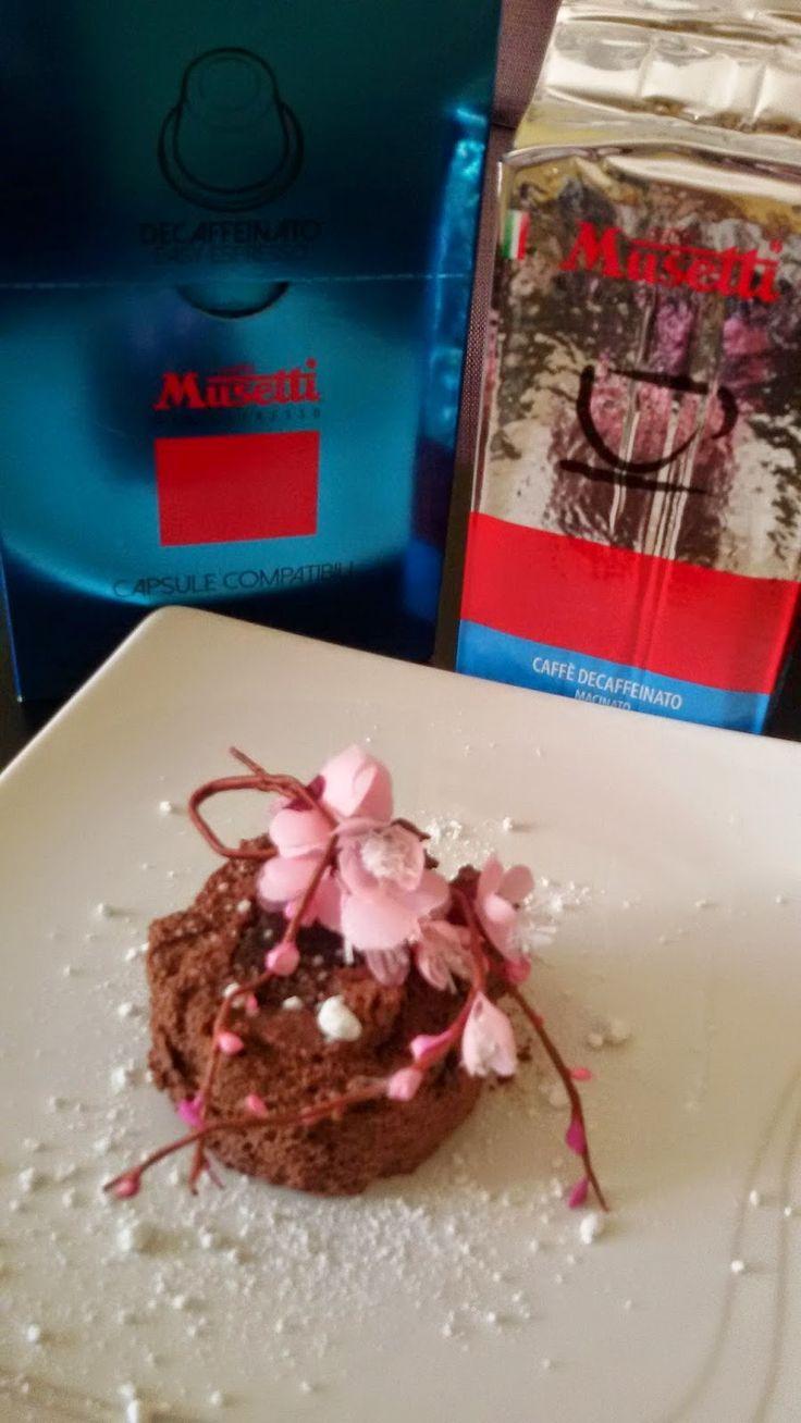 Tortino di caffè Musetti e cioccolato