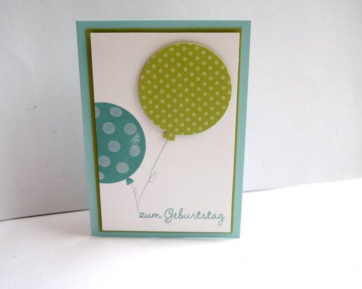 Glückwunschkarten - Geburtstagskarte  - ein Designerstück von szamie bei DaWanda
