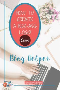 Create a great logo with Canva.  Great way to create your own brand for your blog.