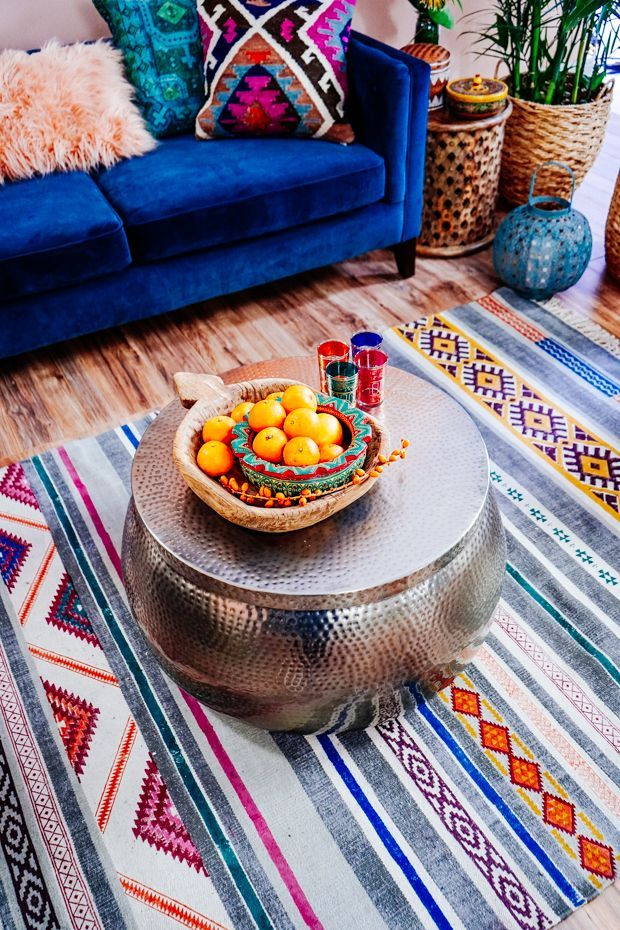 8 Ways To Style Patternful Rugs In Your Home