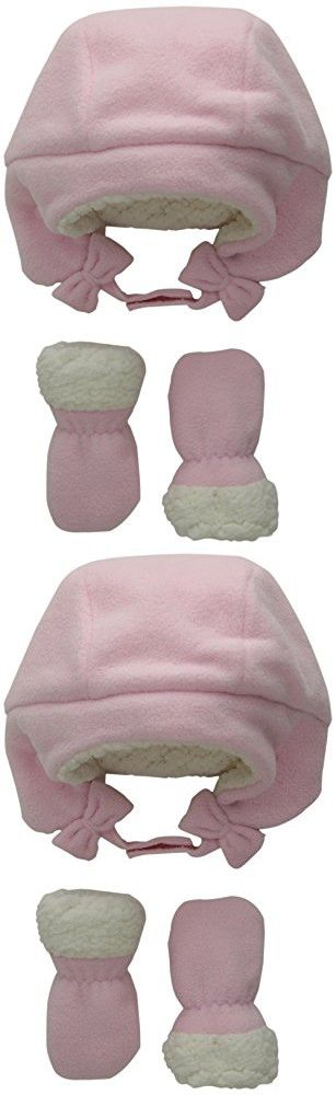 The Children's Place Baby-Girls Trapper and Mitten, Shell, 12-18 Months