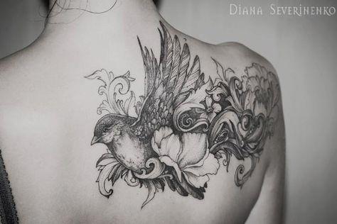 Les superbes tatouages de Diana Severinenko – elo wastine