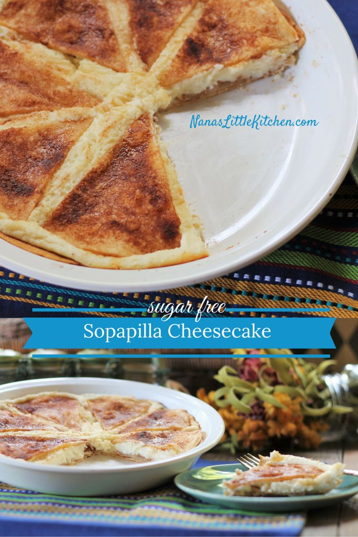 This Sugar Free Sopapilla Cheesecake is our new favorite dessert, hands down!