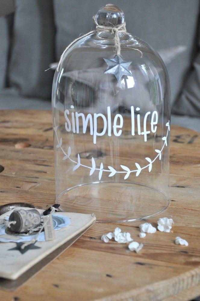 "Sticker ""simple life"" - smile-shop.fr"