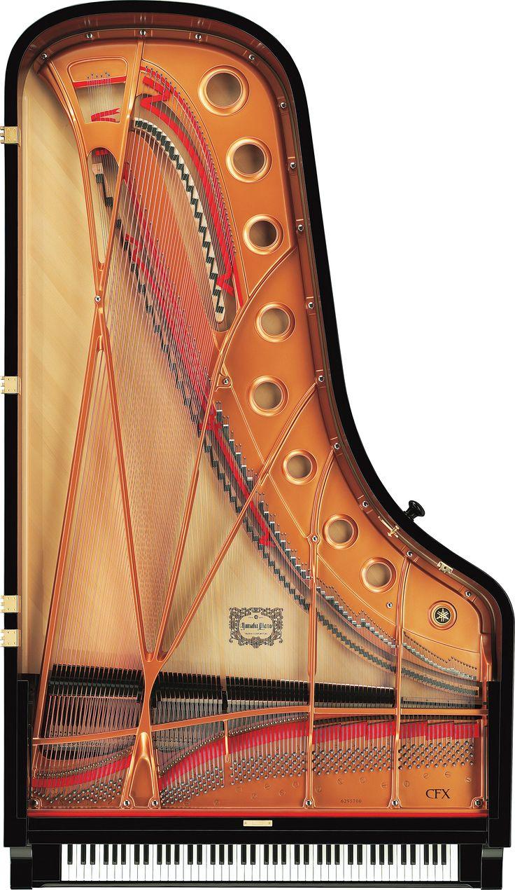 CFX: Yamaha's Flagship, 9 Ft. Concert Grand Piano  www.total-piano-care.com/Yamaha-CFX.html