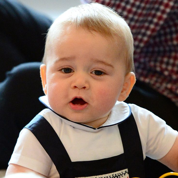 The Many Adorable Faces of Prince George: Prince George has plenty of unimpressed faces, but his royal scowl isn't the only adorable expression we love to see from the little heir.