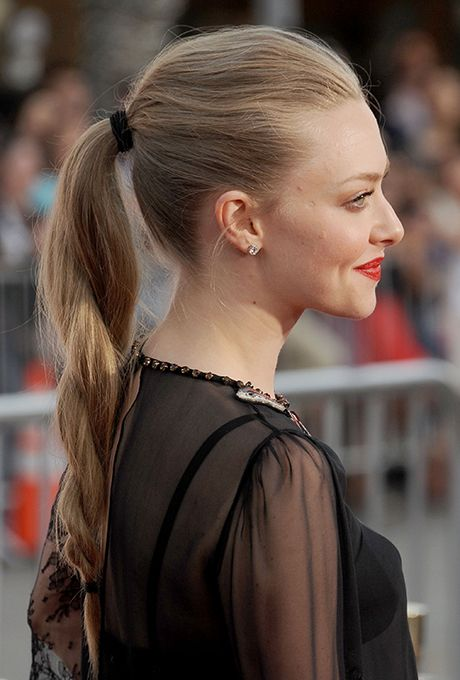 Brides.com: . Amanda Seyfried at the premiere of A Million Ways to Die in the West in Los Angeles.