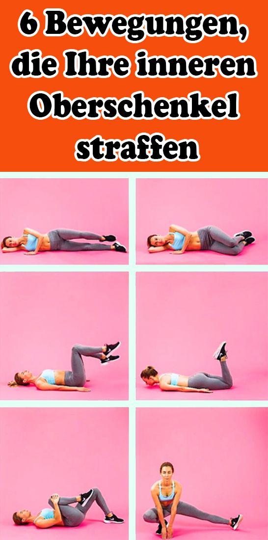 6 Bewegungen, die Ihre inneren Oberschenkel straffen