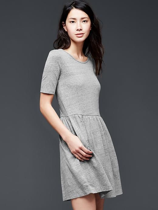 I have this super comfy dress and would love to make it last into fall.
