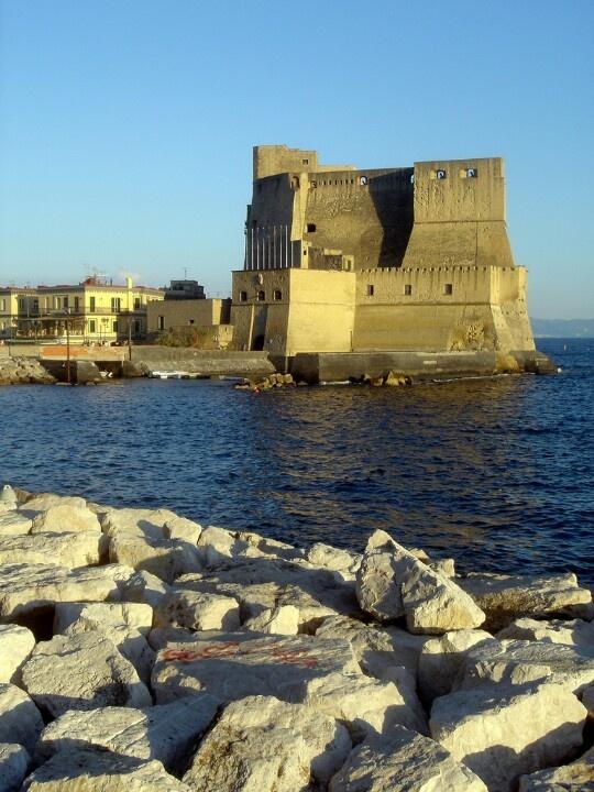 Napoli, Castel dell' Ovo, province of Naples , Campania region Italy
