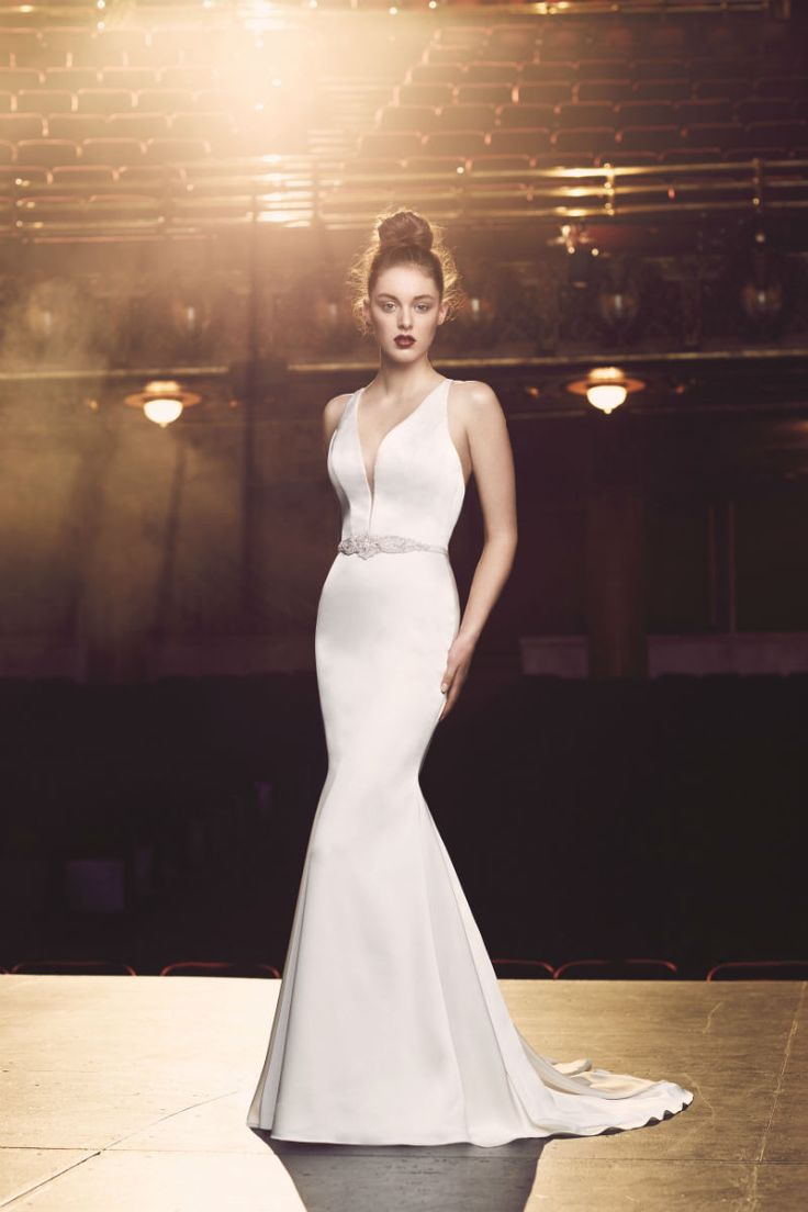 "PALOMA BLANCA FALL 2016 ""OLD HOLLYWOOD GLAMOUR"" BRIDAL COLLECTION www.elegantwedding.ca"