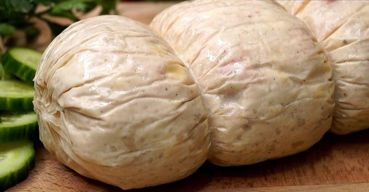 Быстрая домашняя колбаса: без специальных оболочек и приспособлений