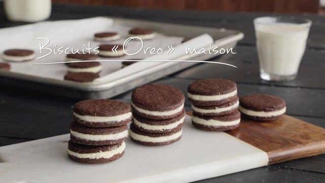 Biscuits « Oreo » maison