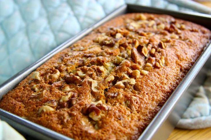 Хотите сладенького, но соблюдаете пост? Всего 10 минут уйдут на приготовление простого и вкусного кекса с орехами и бананами! - appetitno.net