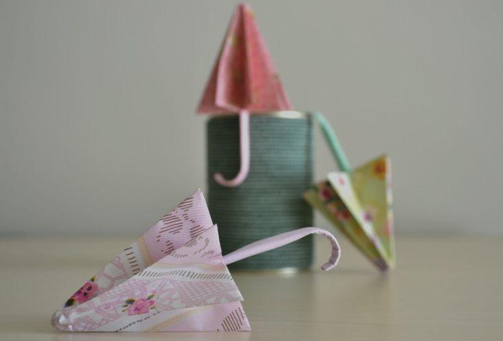 ombrello origami tutorial