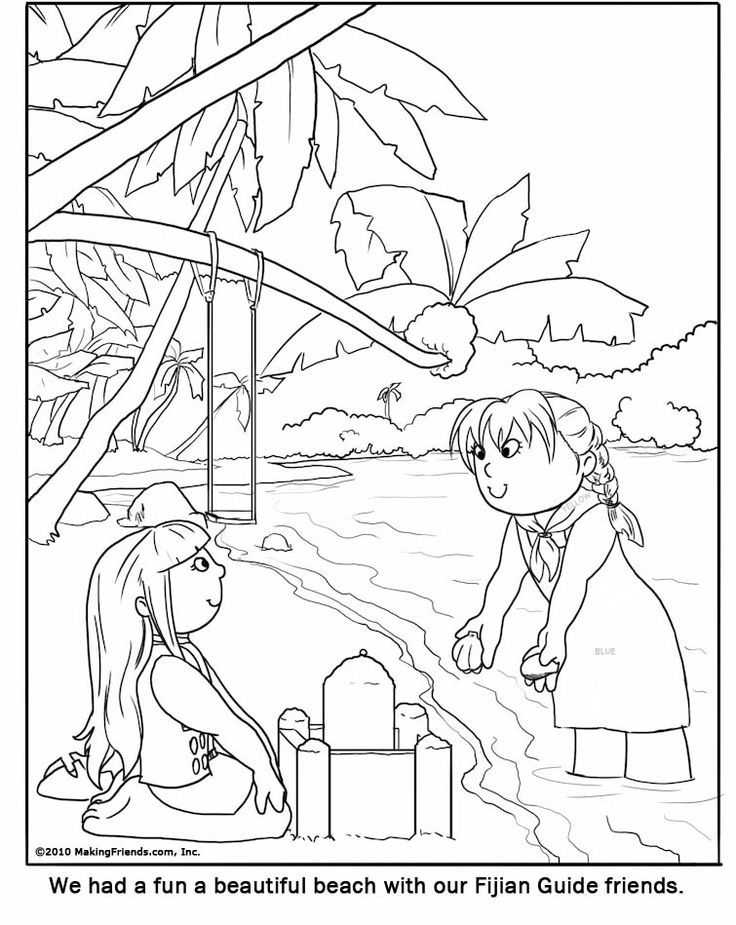 coloring pages fiji - photo#2
