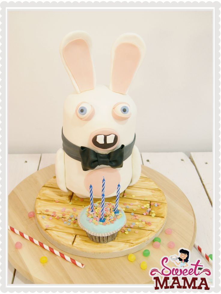 Crazy Rabbids Cake by Sweetmama