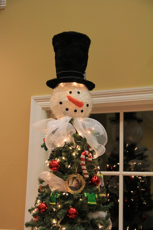 1000 ideas about snowman tree topper on pinterest. Black Bedroom Furniture Sets. Home Design Ideas