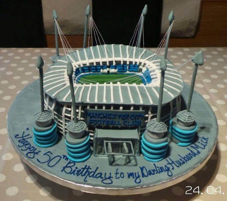 manchester city cake - Google Search