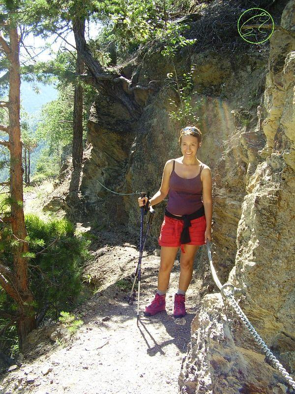 montagna in gravidanza trekking
