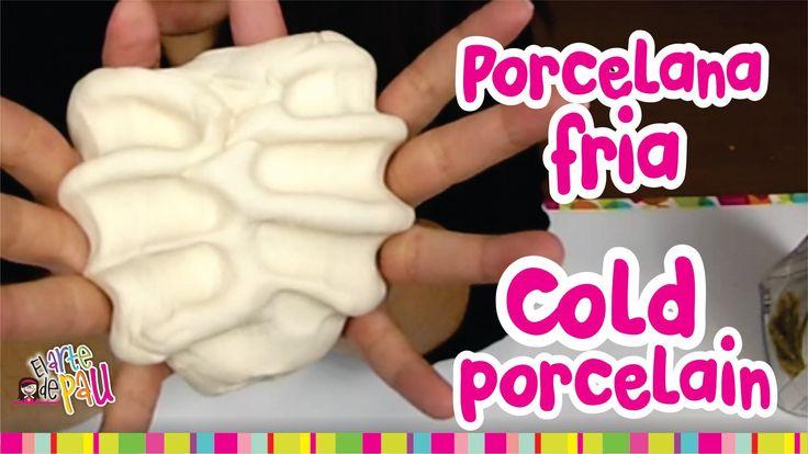 How to make COLD PORCELAIN / Como hacer PORCELANA FRIA (Resistente y Mej...