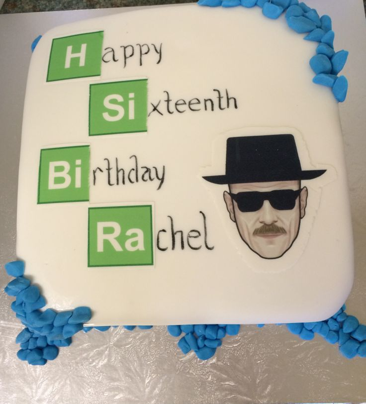 Breaking Bad themed cake