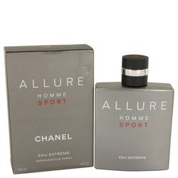 Allure Homme Sport Eau Extreme by Chanel Eau De Parfum Spray 5 oz (Men)