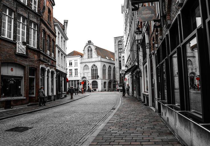 Brugge Streets Belgium