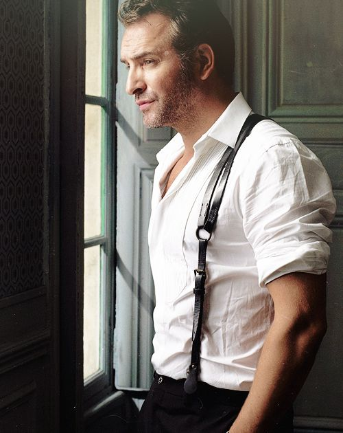 Who doesn't LOVE leather suspenders?