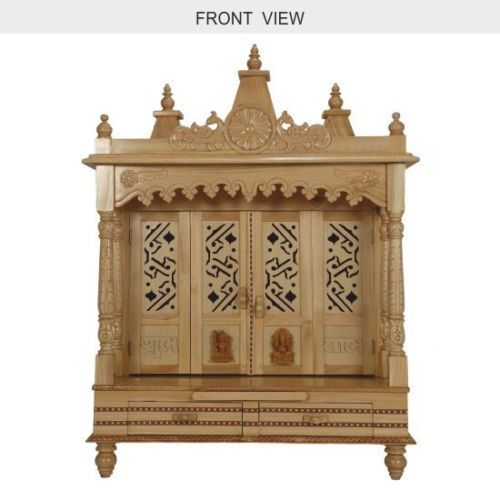 Wooden Temple For Home Puja Pooja With Three Domes 29 Lx 16 B Ebay Spiritual Pinterest