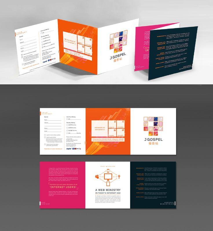 18 best Brochure images on Pinterest - accordion fold brochure
