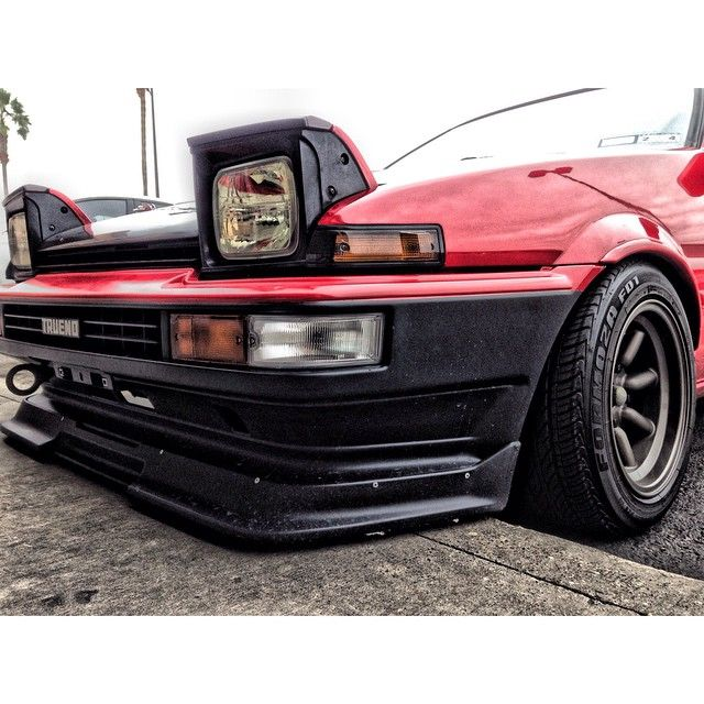 Great Weather To Take Out The Rolla!! #ae86 #trueno #motormavens #