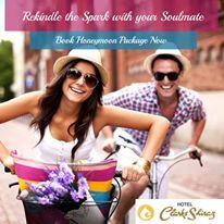 #Rekindle the #spark with your #soulmate & #cherish a #beautiful #stay at our #hotel when you #book our #special #Honeymoon #Package.