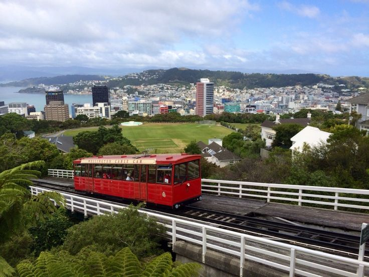 Wellington ( New Zealand ) in North Island, Wellington