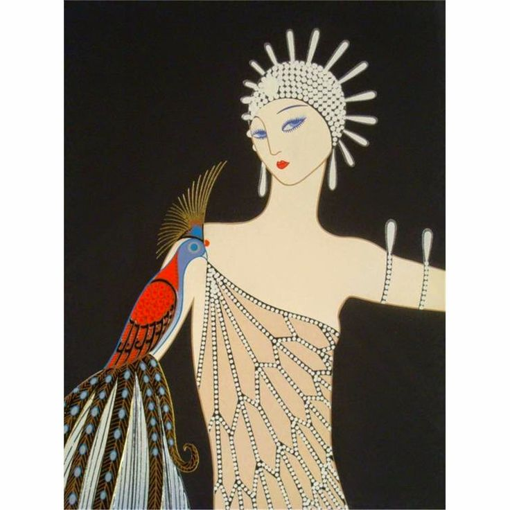 8 best images about erte art deco on pinterest graphic for Deco graphic