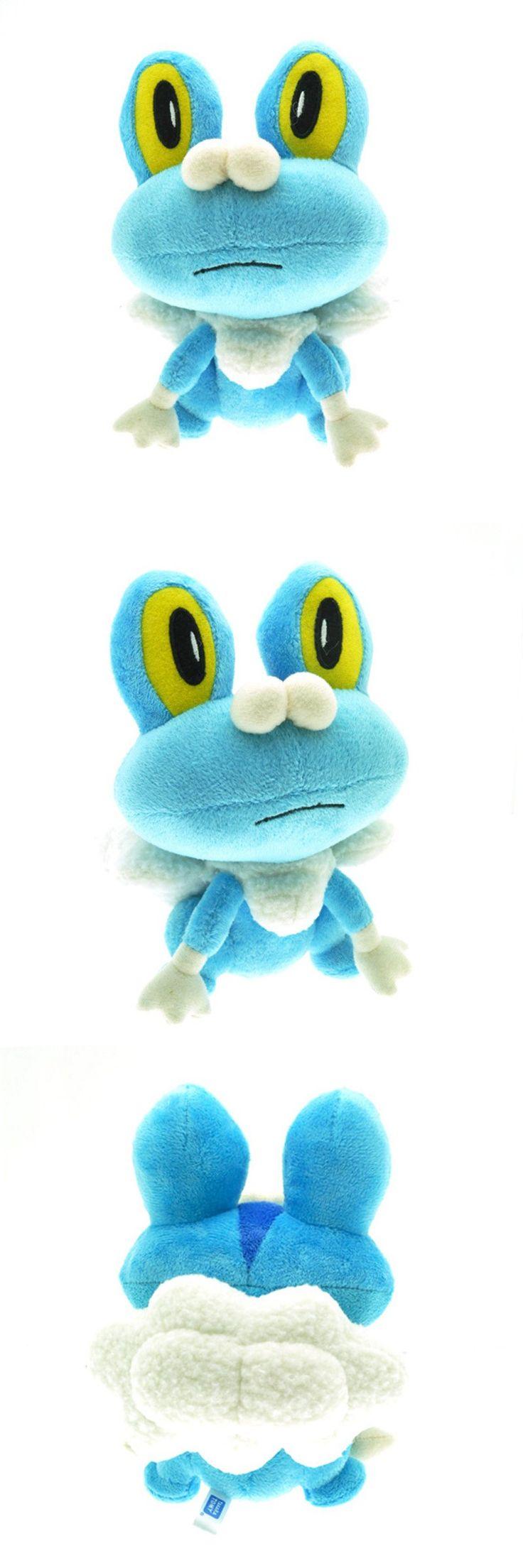 Newest Pokemon XY Froakie Plush Toy Dolls Kawaii 18cm Frogs Froakie Game Plush Toy Soft Stuffed Animals Toys Doll Gift for Kids $5.99