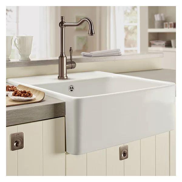 Butler Single Bowl Belfast Kitchen Sink Ceramic Kitchen Sinks