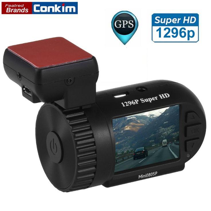 56.84$  Watch more here - Conkim Mini 0805P Car Dash Camera 1296p 30fps H.264 WDR GPS DVR Video Registrar Parking Sensor Low Voltage Protection Capacitor   #SHOPPING