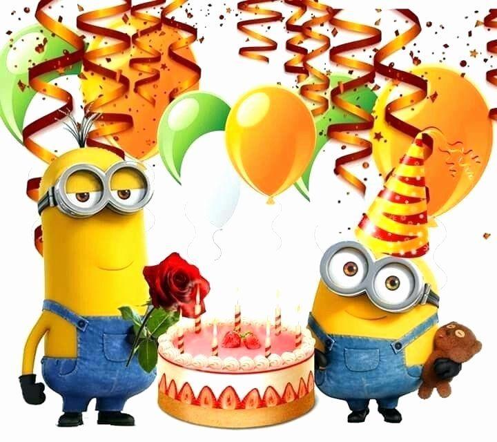 Minion Geburtstagskarte Vorlage Einzigartige Minion