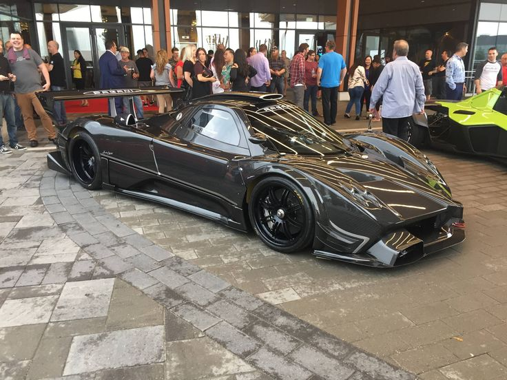 Yesterday At My BMW Staff Party Pagani Zonda R [OC] [3264x2448] Via