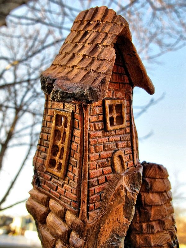 Cardboard House Roof