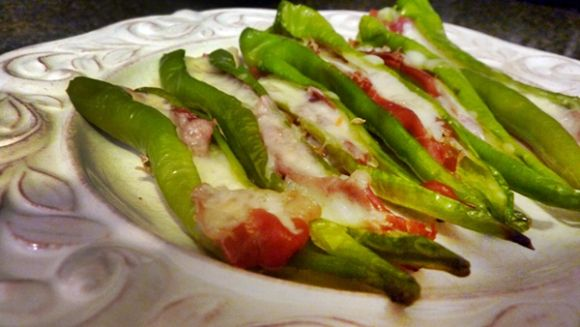 Stuffed Long Hot Peppers