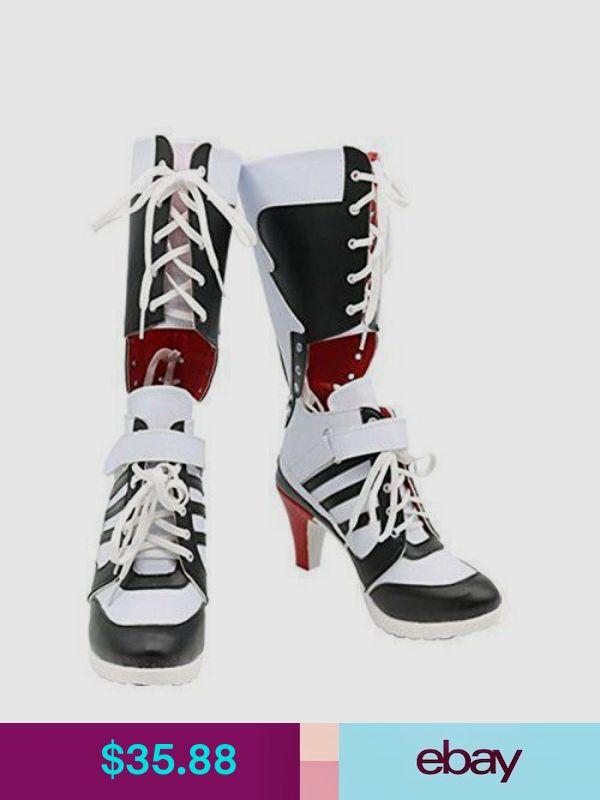 cf74ef7ed5 Batman DC Comics Suicide Squad Harley Quinn Cosplay Boots High Quality  Costume
