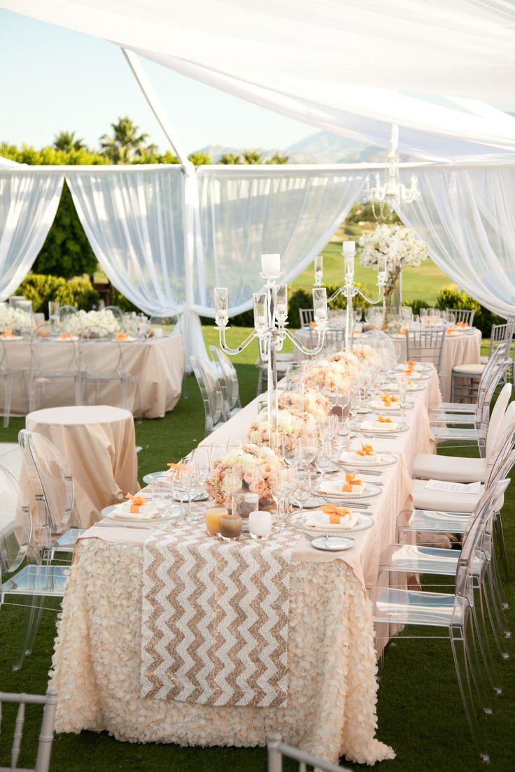 Wedding decoration ideas gold  A modern peach themed reception  Wedding Decor Itus All About the
